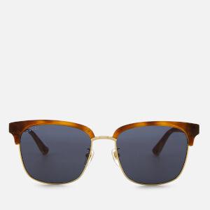 Gucci Men's Tortoiseshell Frame Sunglasses - Brown