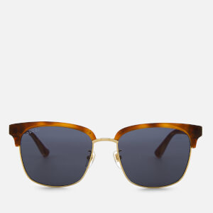 a433e57a23eb Gucci Men's Tortoiseshell Frame Sunglasses - Brown