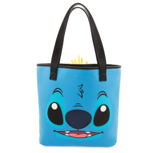 Loungefly Disney Lilo and Stitch Two-Face Stitch and Scrump Tote Bag