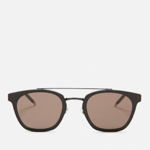 Saint Laurent Aviator Style Sunglasses - Black