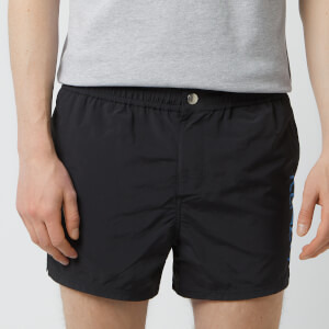 KENZO Men's Logo Swim Shorts - Black