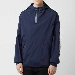 KENZO Men's Overhead Windbreaker - Blue