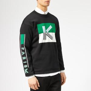 KENZO Men's K Logo Jumper - Black