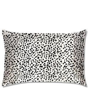 Slip Queen Leopard Pillowcase - Black