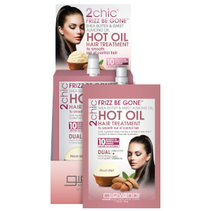 Giovanni 2chic Frizz Be Gone Hot Oil (12 stk)
