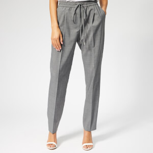 HUGO Women's Hinamo Trousers - Silver