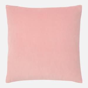 in homeware Cotton Velvet Cushion - Pink