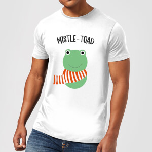 Mistle-Toad Men's Christmas T-Shirt - White