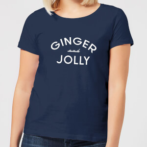 Ginger and Jolly Women's Christmas T-Shirt - Navy