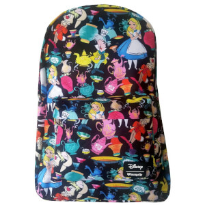 Loungefly Disney Alice in Wonderland Tea Cups Aop Backpack