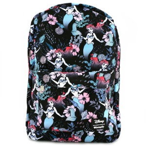 Loungefly Disney The Little Mermaid Ariel Floral Aop Backpack