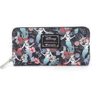 Porte Monnaie Loungefly La Petite Sirène Disney - Imprimé Floral