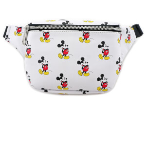 Loungefly Disney Mickey Mouse Mickey Faux Leather Fanny Pack - White