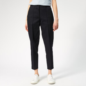 A.P.C. Women's Augusta Trousers - Dark Navy