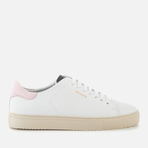 Axel Arigato Women's Clean 90 Leather Trainers - White/Light Pink