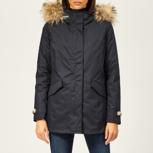 Woolrich Women's Classic Coat with Removable Inner - Navy