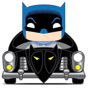 50's Batman Batmobile Pop! Vinyl Ride