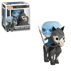 Figurine Pop! Ride - Marcheur Blanc avec Cheval - Game Of Thrones