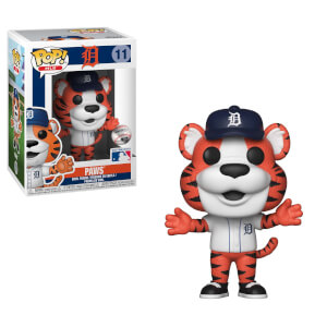 MLB Detroit Paws Pop! Vinyl Figure