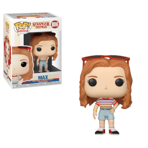 Stranger Things Max with Slicker Funko Pop! Figuur