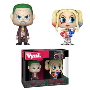 Figuras Funko Vynl. Joker y Harley Quinn - Escuadrón Suicida