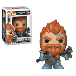 Warhammer 40K Space Wolves Pack Leader Pop! Vinyl Figure
