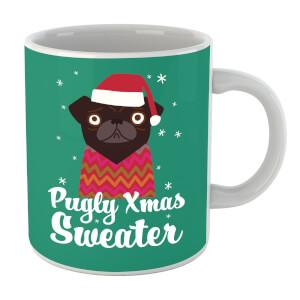 Pugly Xmas Sweater Mug