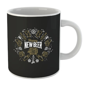 Hoppy New Beer Mug