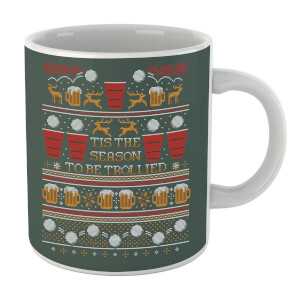 Tis The Season To Be Trollied Mug
