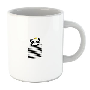 Stripey Panda Pocket Mug