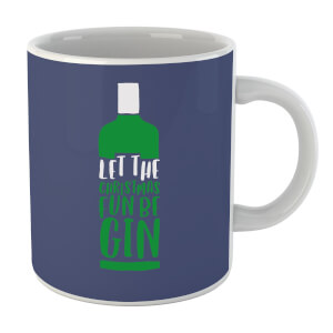 Let The Christmas Fun Be Gin Mug