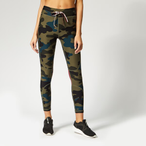 The Upside Women's Army Camo Midi Pants - Army Camo