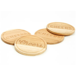 Jamie Oliver Bar Coasters (Set of 4)