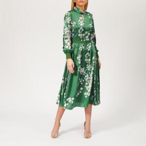 Ted Baker Women's Jhenni Graceful Print Midi Dress - Green