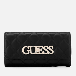 Guess Women's Sweet Candy Trifold Wallet - Black