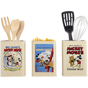 Disney Mickey Mouse (Retro Posters) Kitchen Storage Set