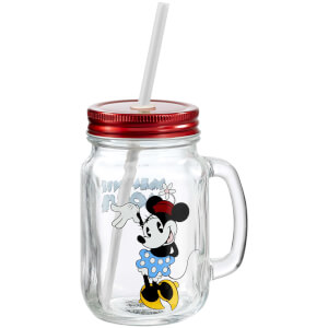 Disney Minnie Mouse Mason Jar