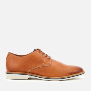 Clarks Men's Atticus Lace Leather Derby Shoes - Tan