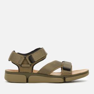 Clarks Men's Tricove Sun Combi Sandals - Olive