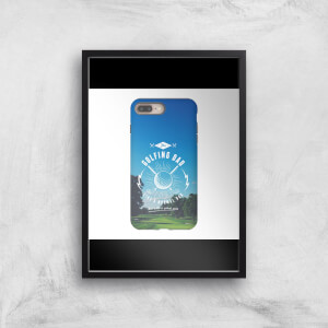 Golf Dad Phone Case Art Print