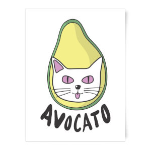 Avocato Art Print
