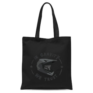 In Gravity We Trust BMX Tote Bag - Black