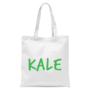 Kale Tote Bag - White