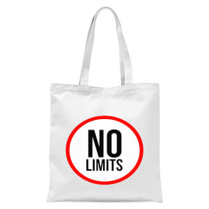 No Limits Tote Bag - White