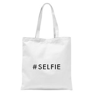 Selfie Tote Bag - White