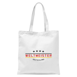 Weltmeister Tote Bag - White