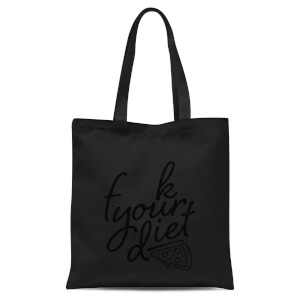 F**k Your Diet Tote Bag - Black