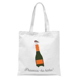 Prosecco-ho-ho Tote Bag - White