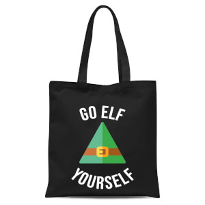 Go Elf Yourself Tote Bag - Black