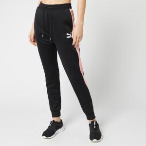 Puma Women's Classics T7 Track Pants - Puma Black